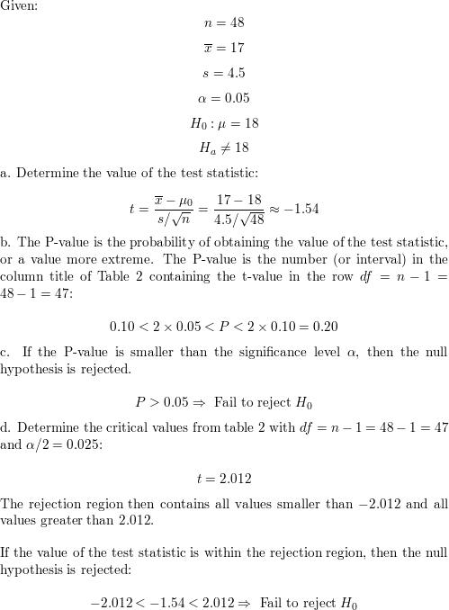 Consider The Following Hypothesis Test Begin L