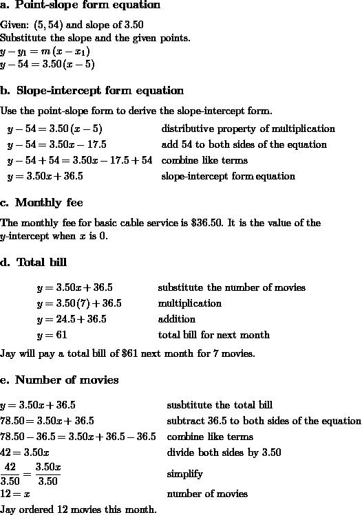 Bestseller: Springboard Algebra 1 Answer Key Page 182