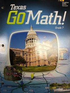 Solutions to Texas GoMath!: Grade 7 (9780544050877), Pg  24